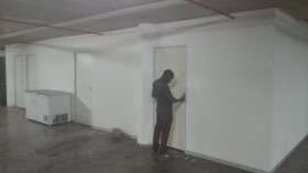 Drywall partition